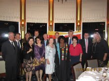 RCS Council members with Consul General from Australia, Mozambique and South Africa