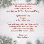 Christmas Party on 14 Dec