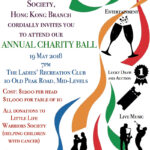 Annual Charity Ball on 19 May