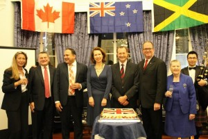 British and Canadian Consul Generals with RCS Council