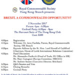 BREXIT, A COMMONWEALTH OPPORTUNITY?