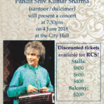 Pandit Sharma Concert on 4 June