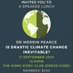 Speaker Lunch with Dr. Merrin Pearce on 11 Sep